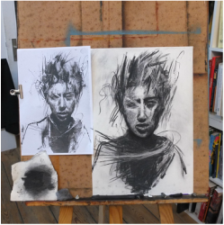 expressive drawing classes figure and portrait dublin