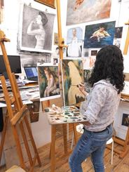impressionist oil painting classes dublin Ireland