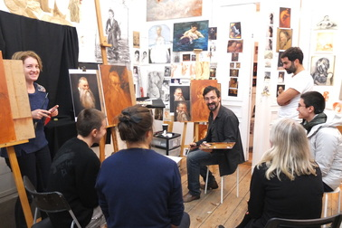 group art classes for beginners and professionals dublin ireland