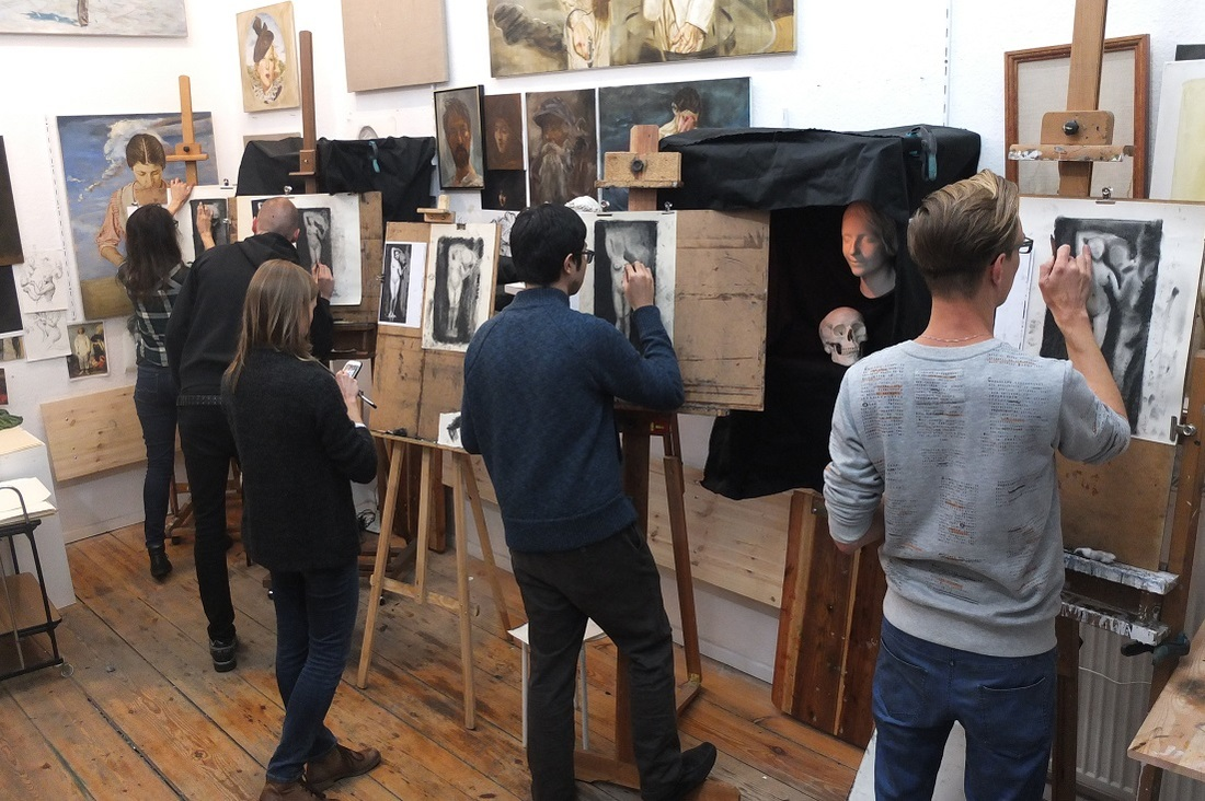 drawing class night time drawing course Dublin ireland